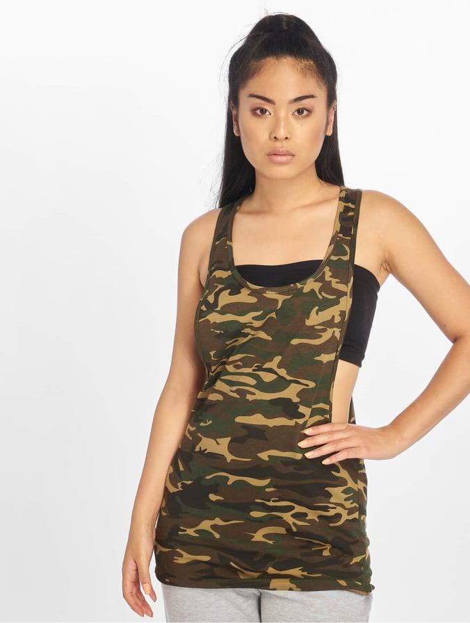 ccae59103ca6c Urban Classics   Ladies Camo Loose camouflage Femme Débardeur 125999