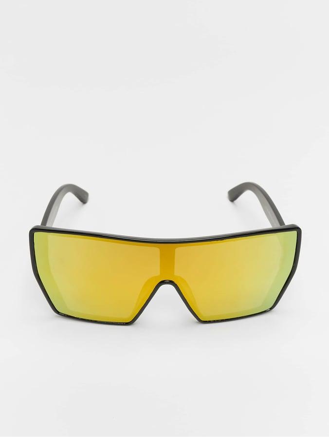 nouvelle collection obtenir pas cher meilleur Urban Classics Chain Sunglasses Black/Yellow