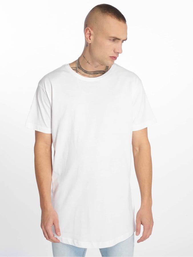 Urban Classics Shaped Oversized Long T Shirt White