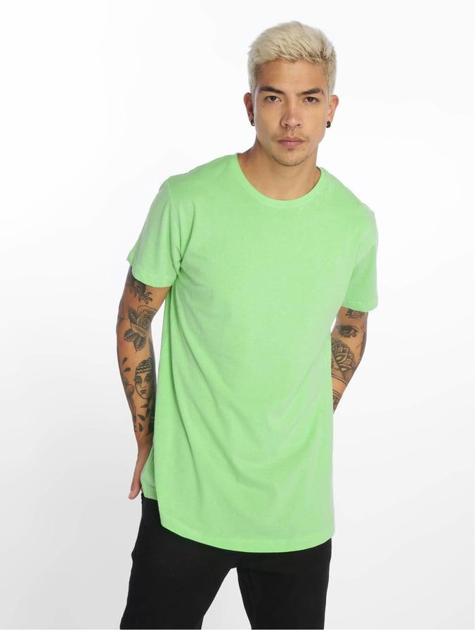 Urban Classics Shaped Long T Shirt Neomint