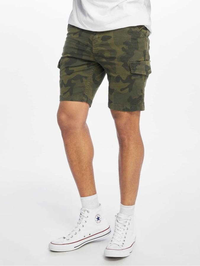 Urban Surface Cargo Bermunda Shorts Camouflage Olive
