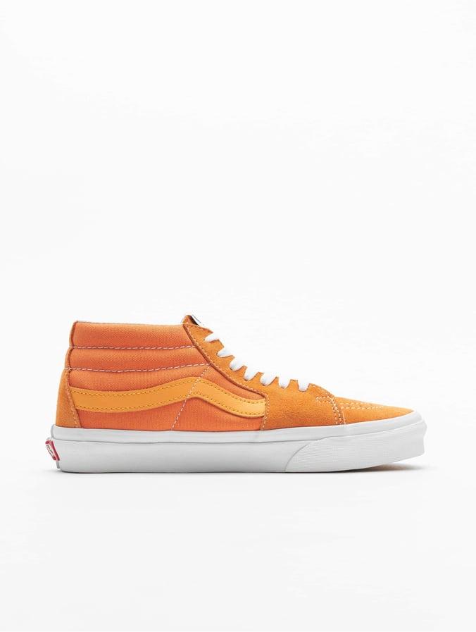 vans orange femme