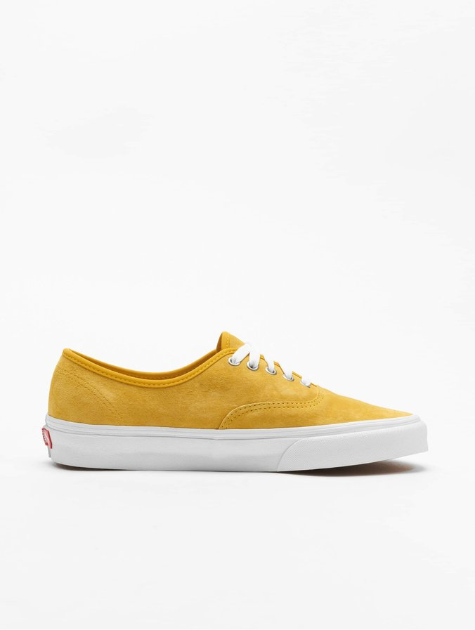 Vans – UA Authentic – Sneaker in Gelb