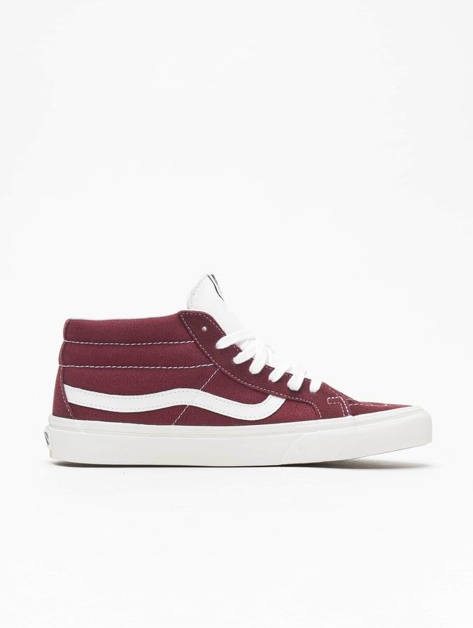 Vans Damen Old Skool SuedeCanvas Sneaker Rot (BurgundyTrue