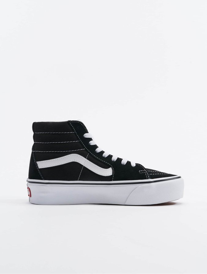 finest selection 7cbb7 18ce2 Vans Sk8-Hi Platform 2.0 Sneakers Black/True White