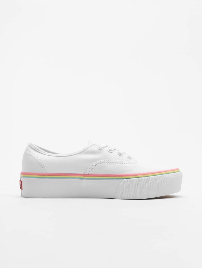 Schwarz Weiß Schuhe Vans | Authentic Platform 2.0