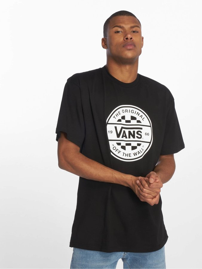Vans Checker Co. II T-Shirt Black/White