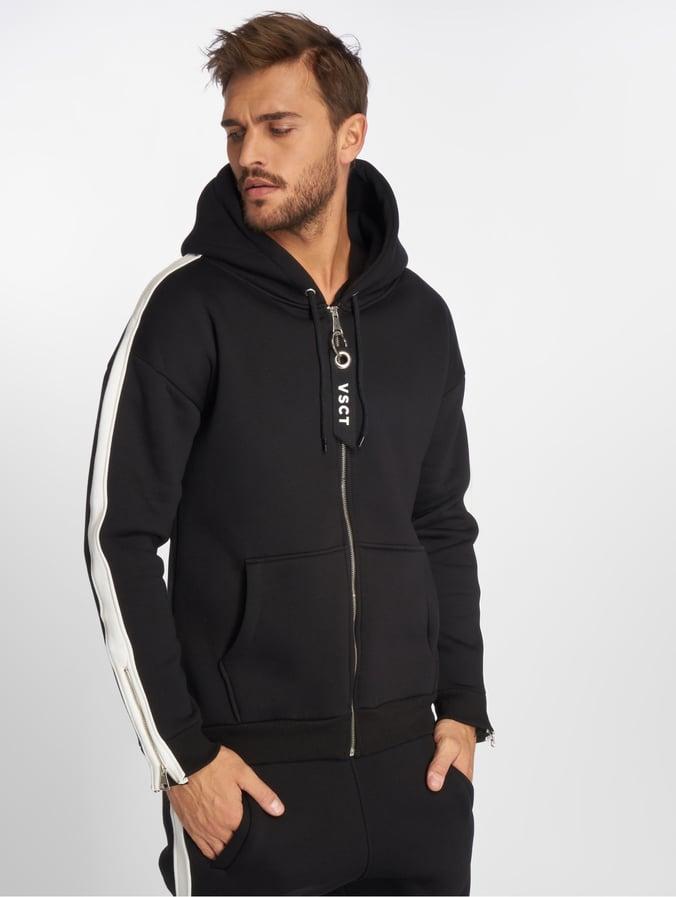 promo code 309b1 ef687 VSCT Clubwear Striped Zip Hoody Black/White