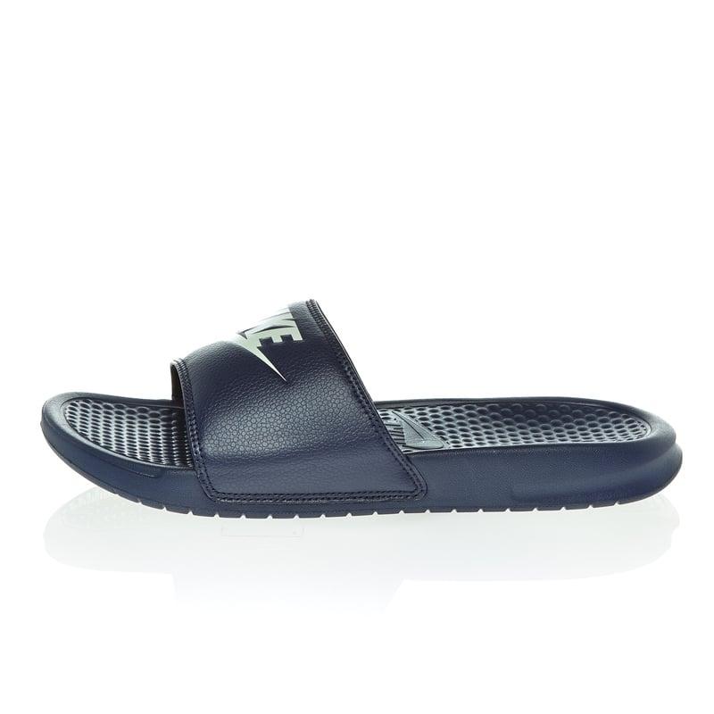 nike herren sandalen benassi jdi in blau 343576. Black Bedroom Furniture Sets. Home Design Ideas
