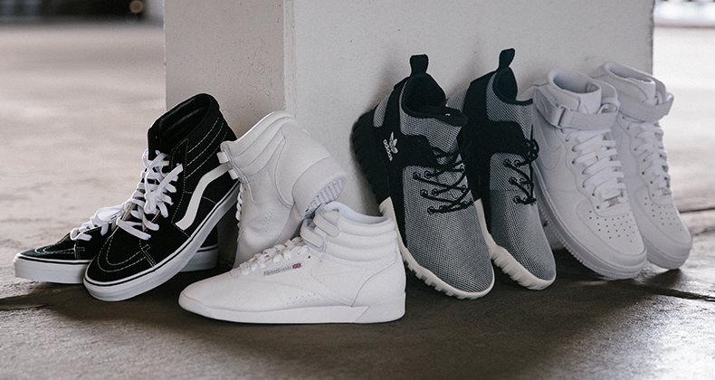 God stil med high top sneakers