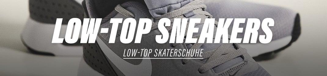 Herren Low Top Skaterschuhe