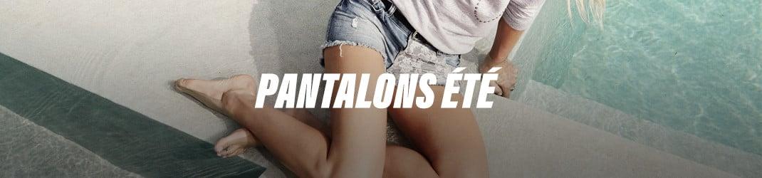 Grâce aux pantalons d'été, sois à l'aise par temps chauds