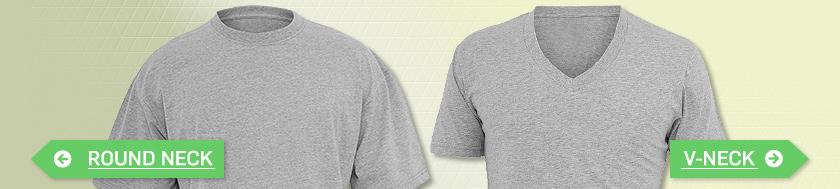 Damen V-Neck-T-Shirts