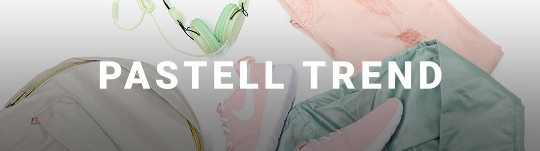 Pastell – frische Sommerkleidung in Pastell