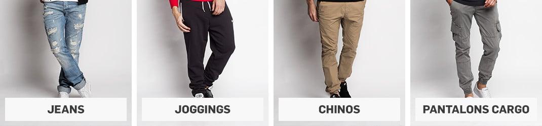 Pantalons cargo pour homme