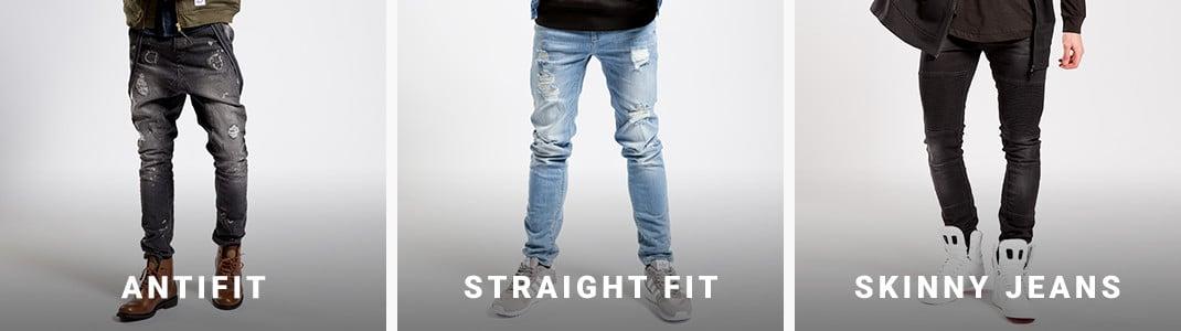 Et stort og bredt udvalg af smarte herre jeans