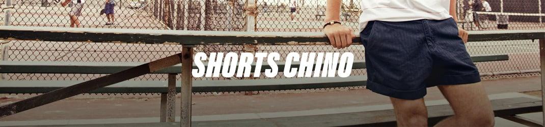 Short chino pour une tenue estivale décontractée
