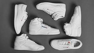 Reebok White Classic Pack