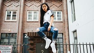 Trend: Slitna Jeans
