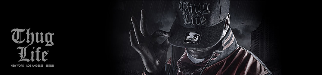 Les t-shirts Thug Life pour un look hip-hop assumé