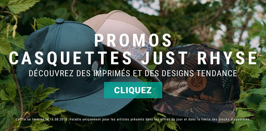 promos casquettes just rhyse unisexe