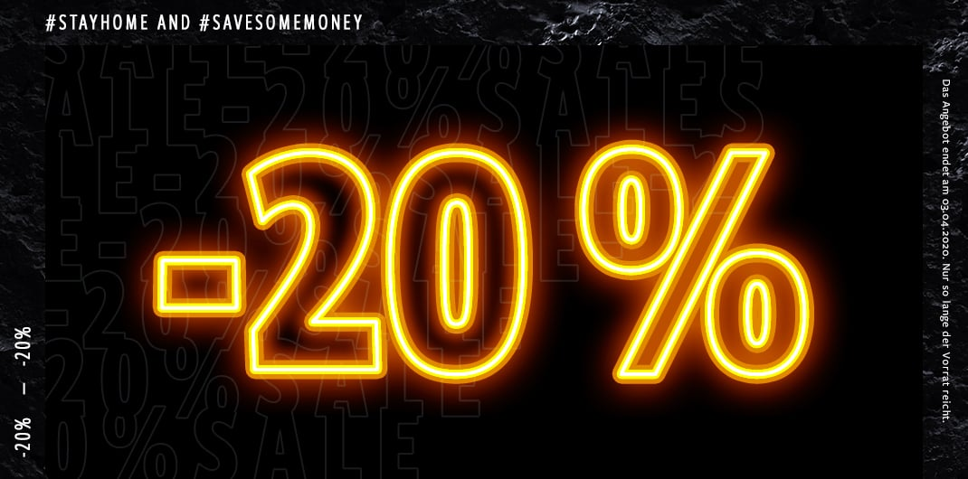 20 Prozent auf Alles