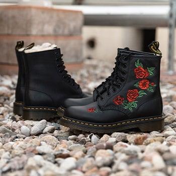 dr. martens boots frauen