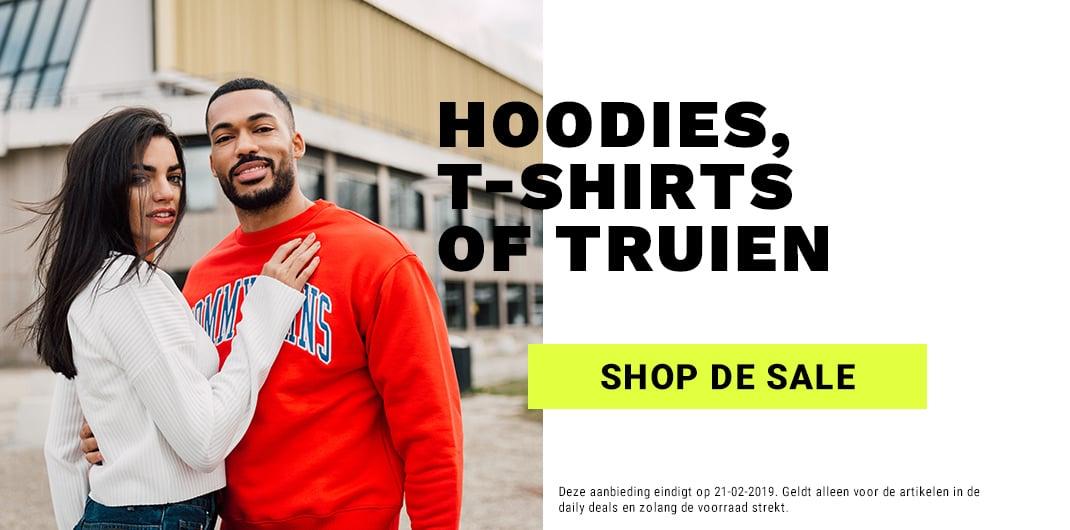 hoodies truien t-shirts sale uniseks