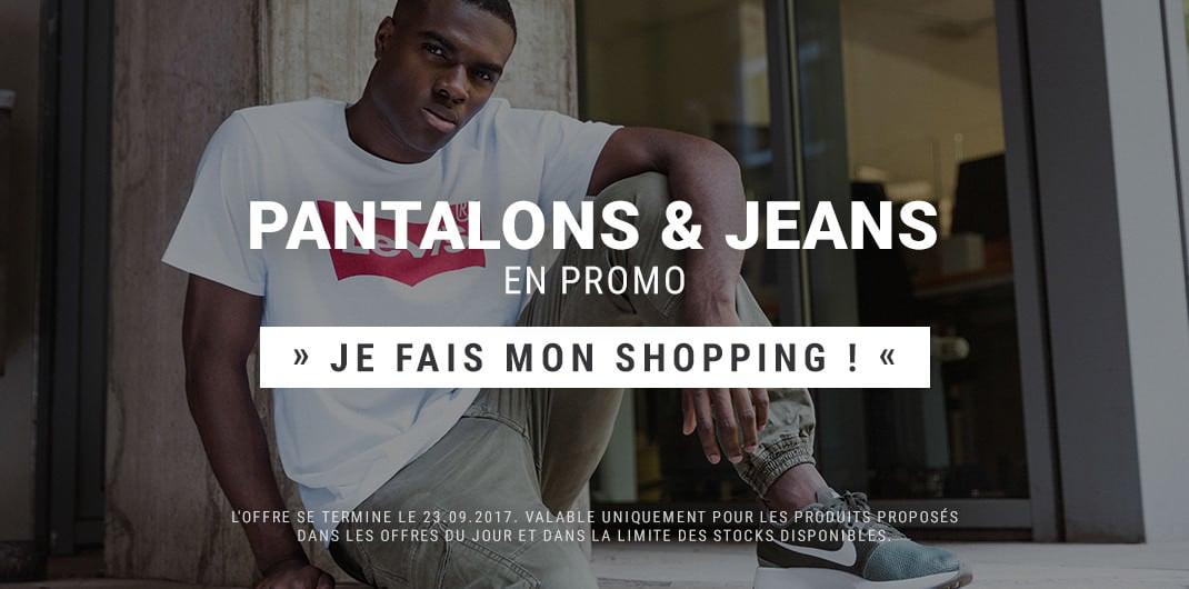 Pantalons & Jeans en promo hommes