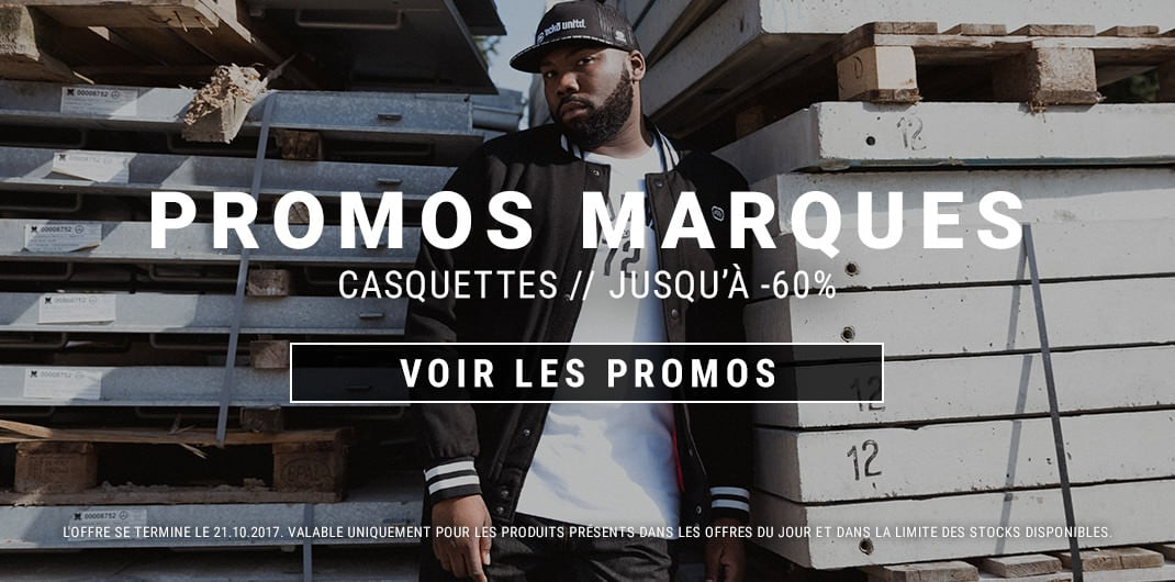 Promos marques casquettes homme