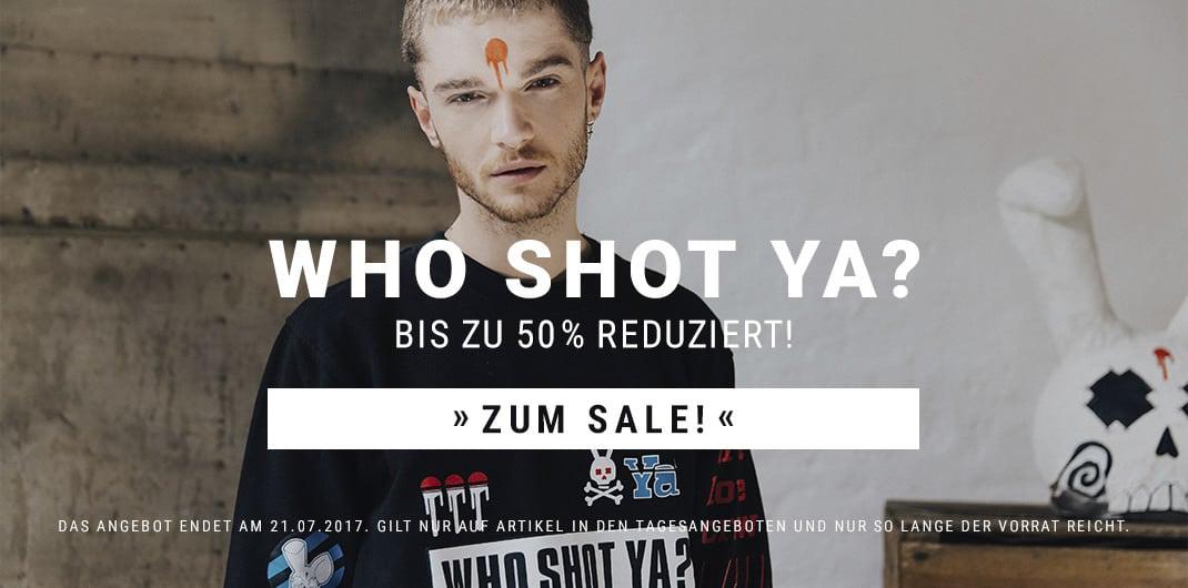 who shot ya sale für frauen