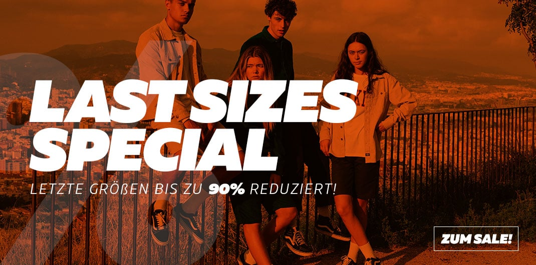 Burner.de - Last Sizes Special