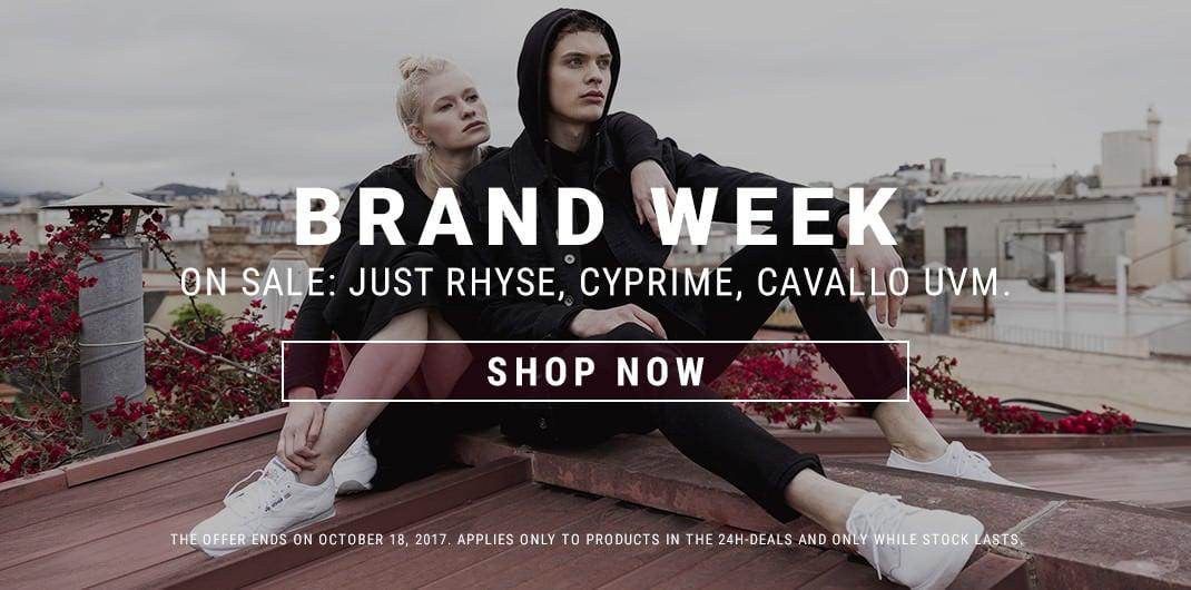Brand week sale unisex