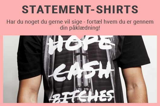Statement shirts