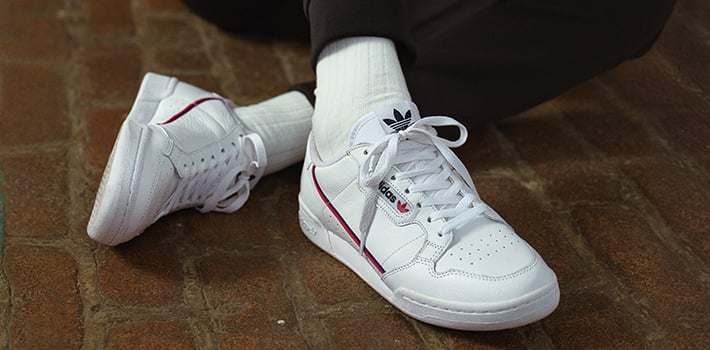 adidas continental 80 sneakers unisex