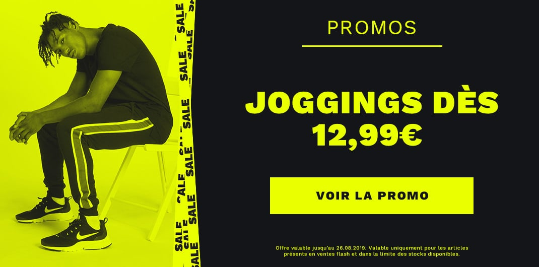 Promos joggings unisexe