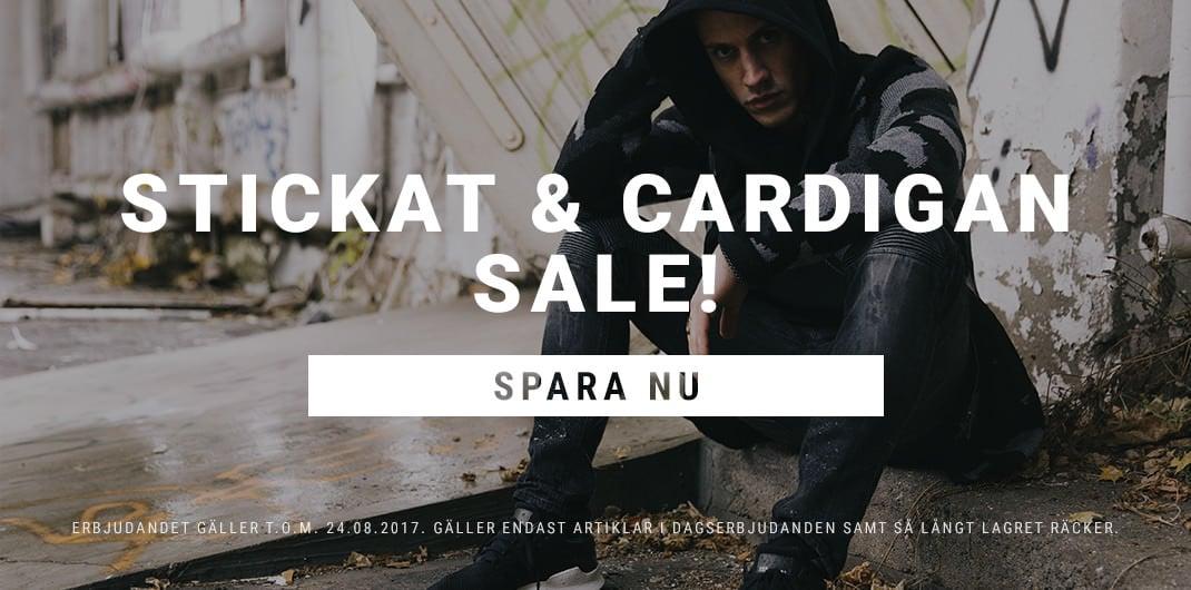 Stickat & Cardigan Sale