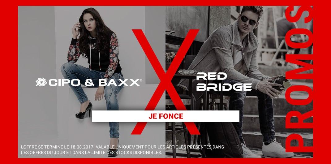 Cipo&Baxx & RedBridge Sale Unisexe