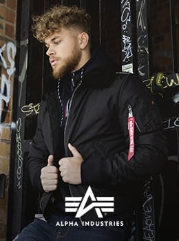 alpha industries männer