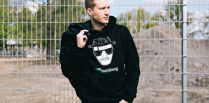 Product of the Week: Merchcode Heisenberg Hoodie