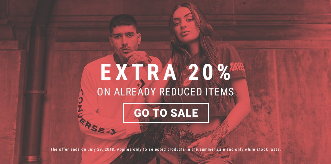 20% extra sale