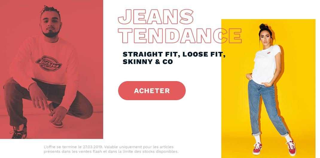 Promos Jeans unisexe