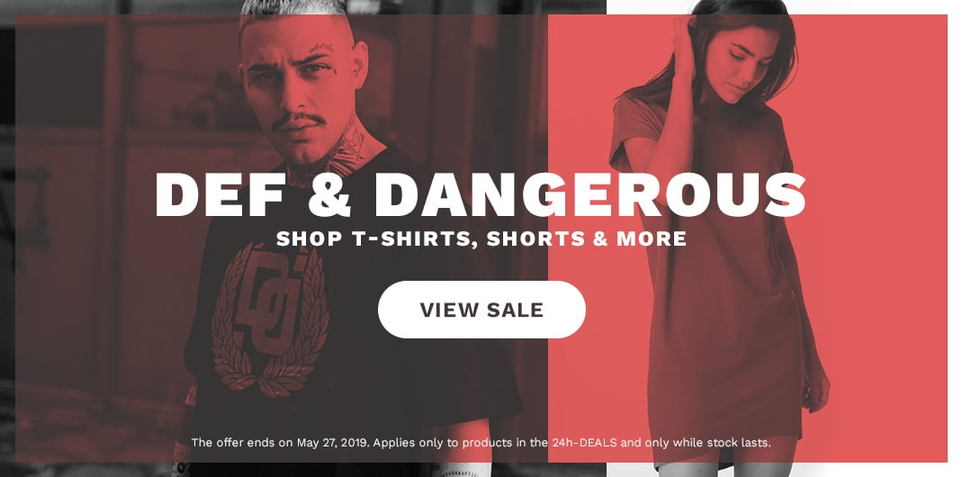 def dangerous sale unisex