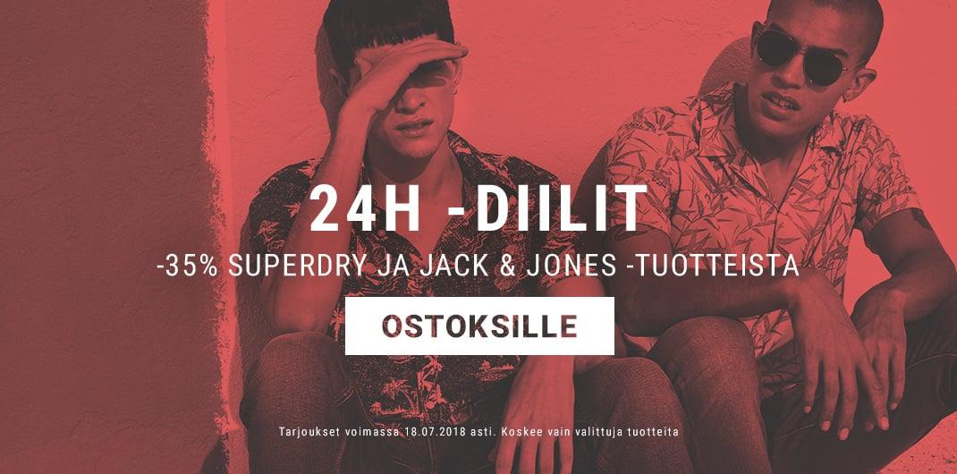superdry & jack & Jones -ale unisex