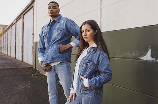 new in denim unisex