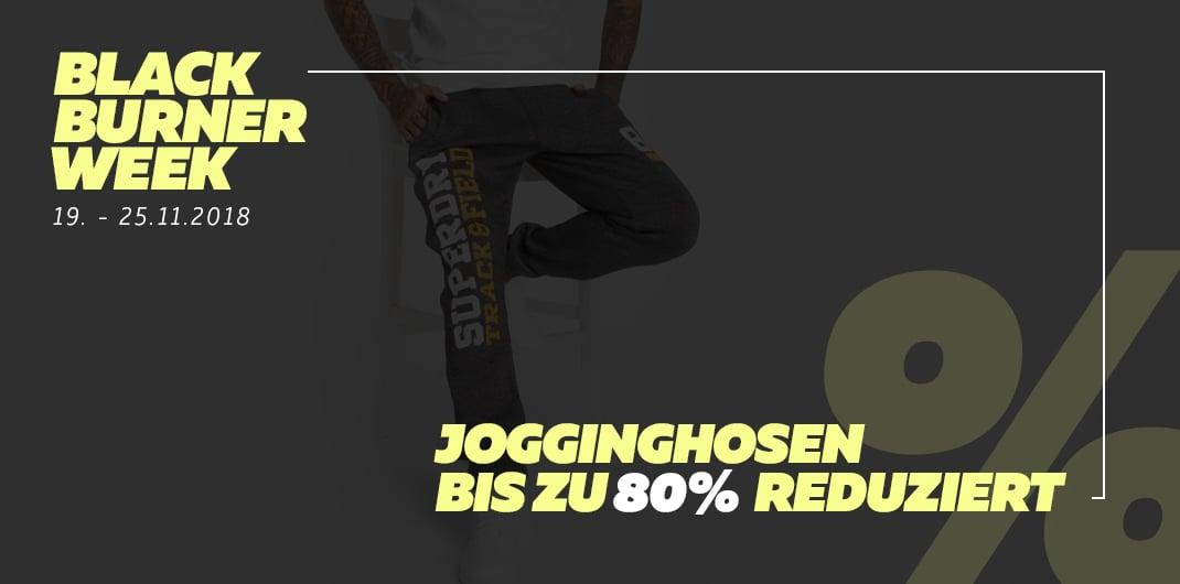 Black Burner Week - Jogginghosen Sale