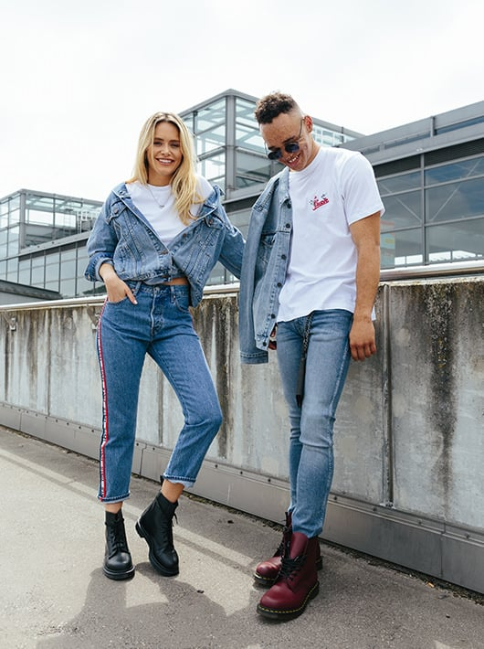 denim look unisex