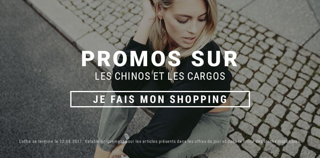 Chinos et Cargos Promos Femme