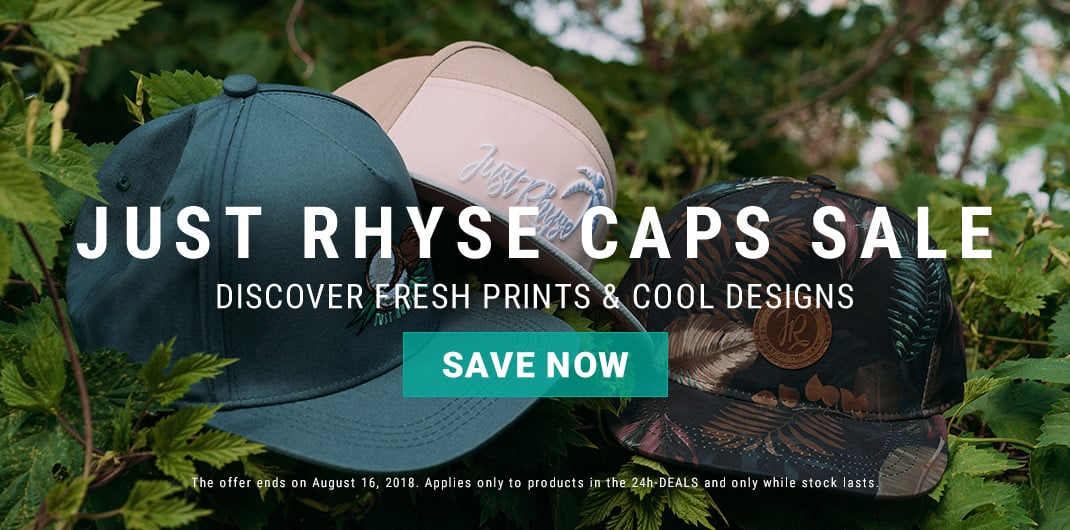 just rhyse caps sale