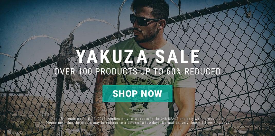 Yakuza sale
